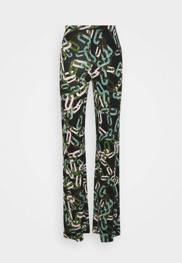 DVF CASPIAN - Trousers - modern chain black