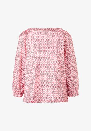 Blouse - true red embroidery