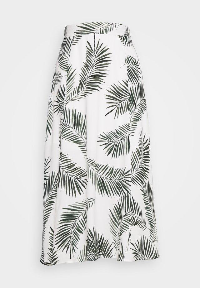 BYFIA SKIRT - Długa spódnica - sea green