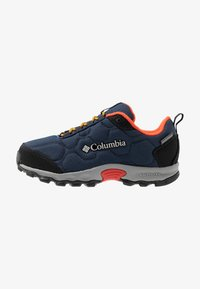 Columbia - YOUTH FIRECAMP SLED 3 WP UNISEX - Hiking shoes - collegiate navy - 1