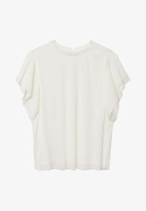 T-shirt con stampa - wit