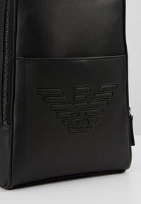 Emporio Armani - BODYPACK - Across body bag - black - 7