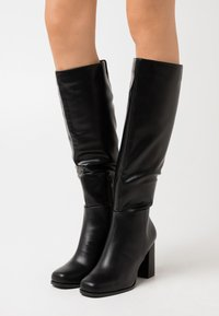 Vero Moda - VMRONJA BOOT - High heeled boots - black - 0