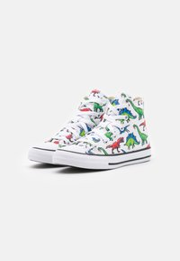 Converse - CHUCK TAYLOR ALL STAR DIGITAL DINOVERSE UNISEX - Sneakers hoog - white/bold wasabi/digital blue - 1