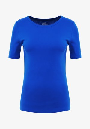 CREWNECK ELBOW SLEEVE - Basic T-shirt - brilliant sapphire