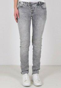 Buena Vista - Straight leg jeans - light grey - 0