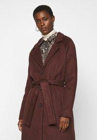Object Tall - OBJLENA COAT - Classic coat - chicory coffee - 3