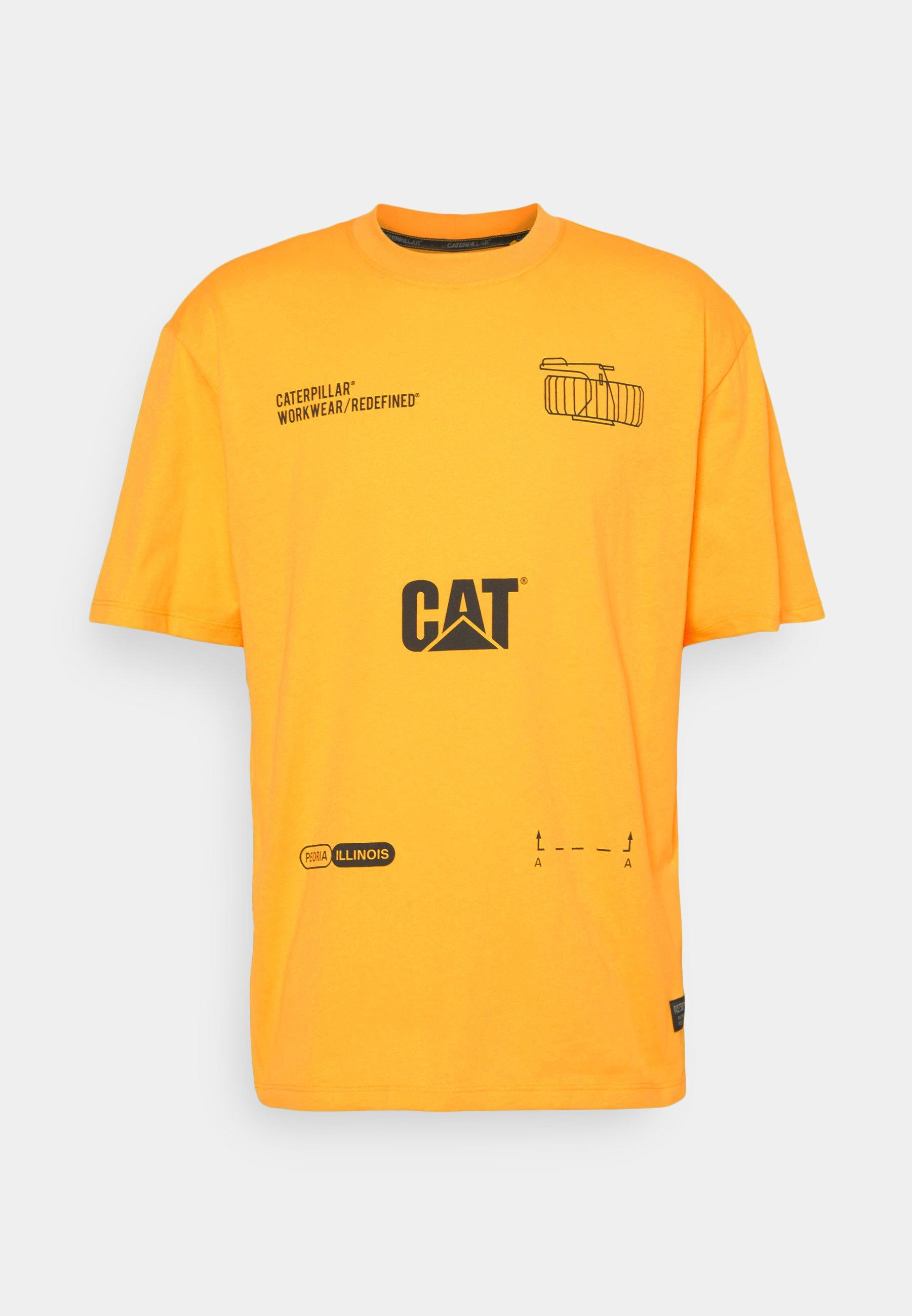 Homme CAT MACHINERY TEE - T-shirt imprimé