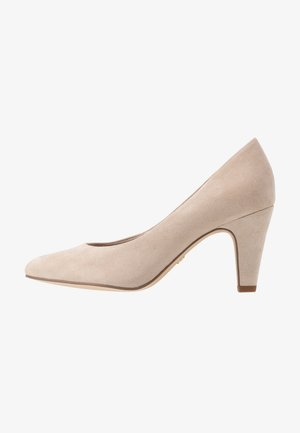 COURT SHOE - Klassiske pumps - dune