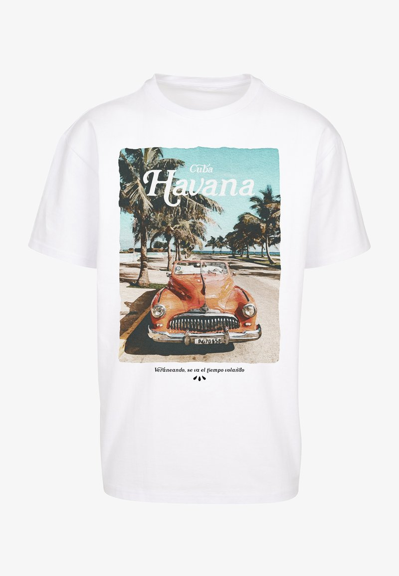 Upscale by Mister Tee - T-shirt print - white