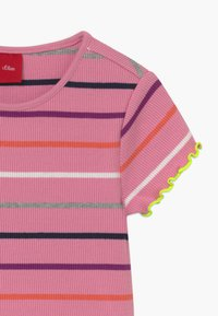 s.Oliver - KURZARM - Camiseta estampada - light pink - 3