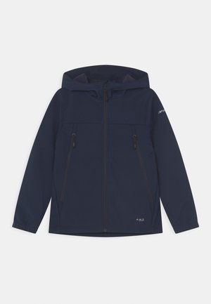 KONAN JR - Soft shell jacket - dark blue