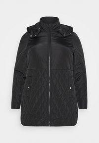 JRSARA QUILTED JACKET - Winter coat - black