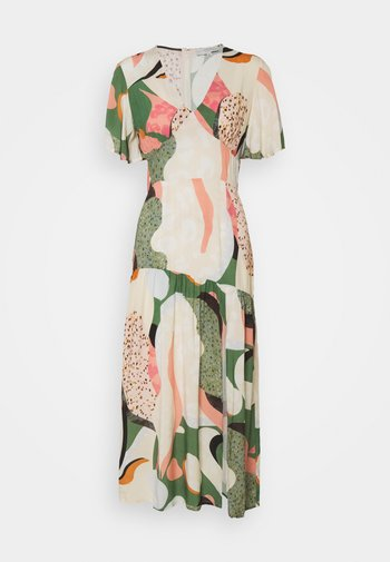 CLOVER DRESS - Denní šaty - green
