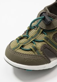 Viking - THRILL - Walking sandals - olive/huntinggreen - 2