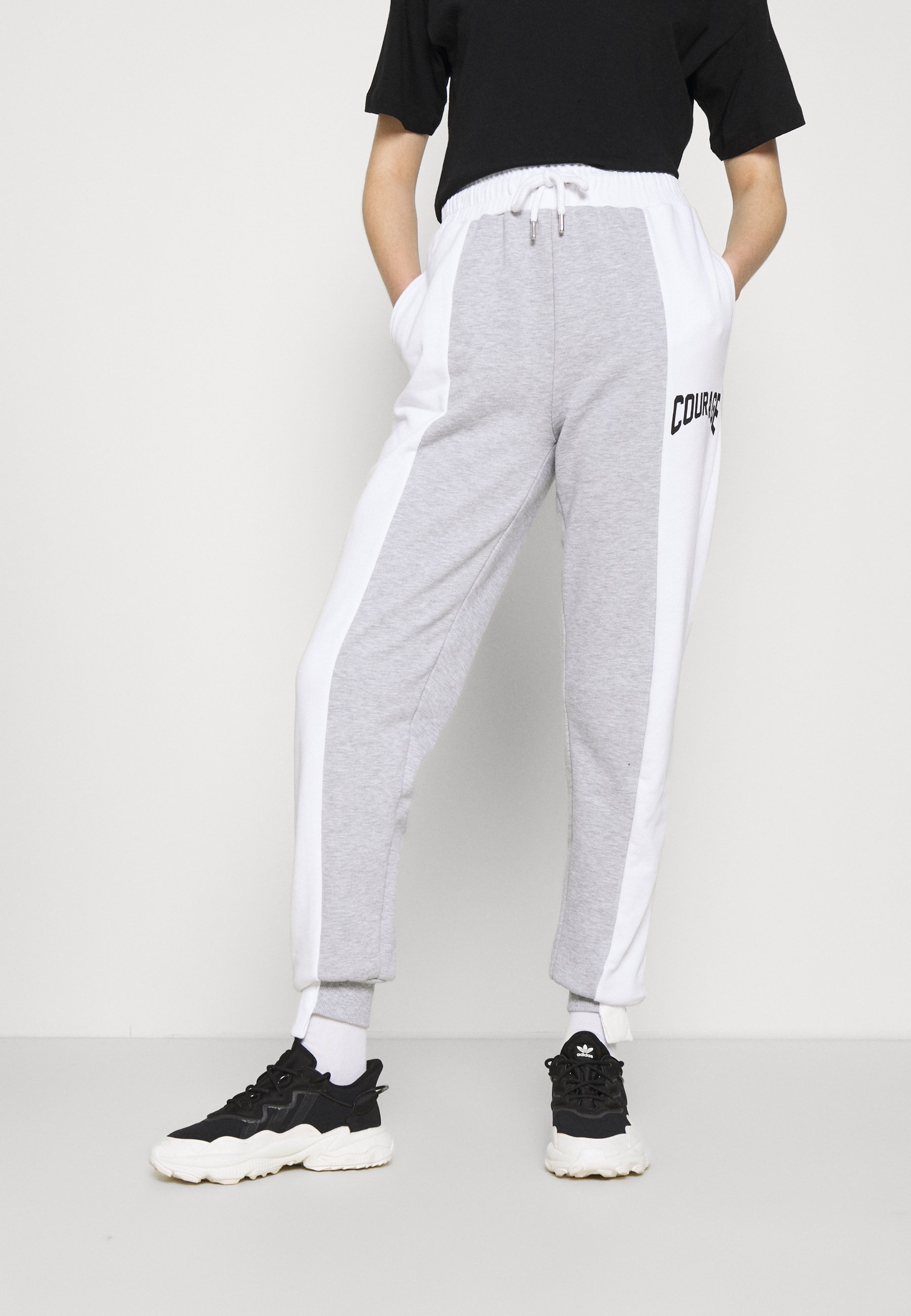 Women SPLICED COURAGE JOGGER - Tracksuit bottoms