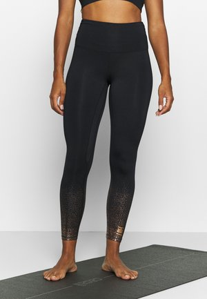 FOIL FADE - Leggings - black