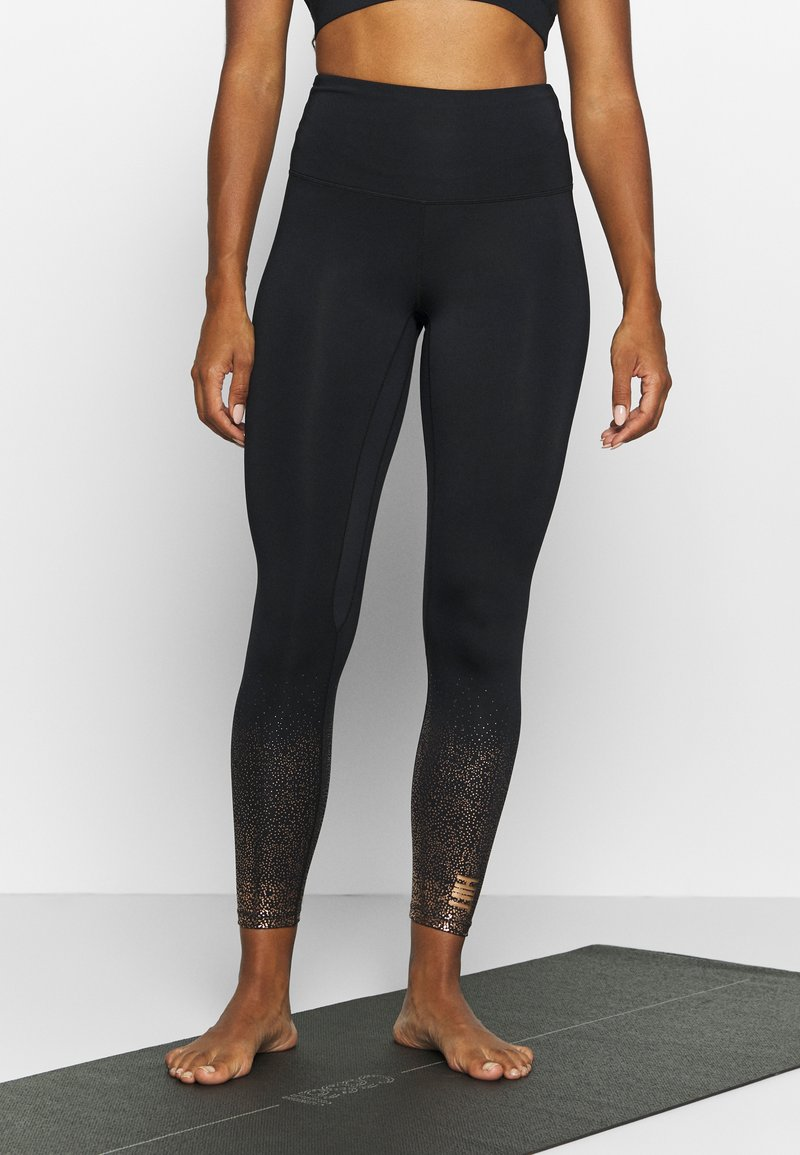 HIIT - FOIL FADE - Tights - black