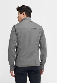 Mammut - ULTIMATE  - Soft shell jacket - titanium phantom melange - 1