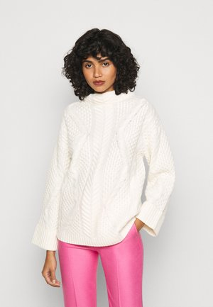 SWEATER - Sweter - cream