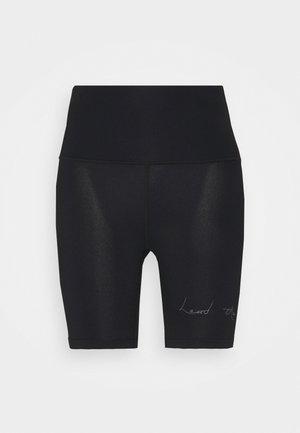 VIBE CYCLING SHORTS - Leggings - black