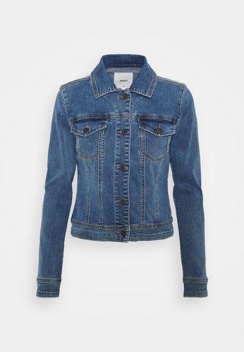 OBJWIN  - Denim jacket - medium blue denim