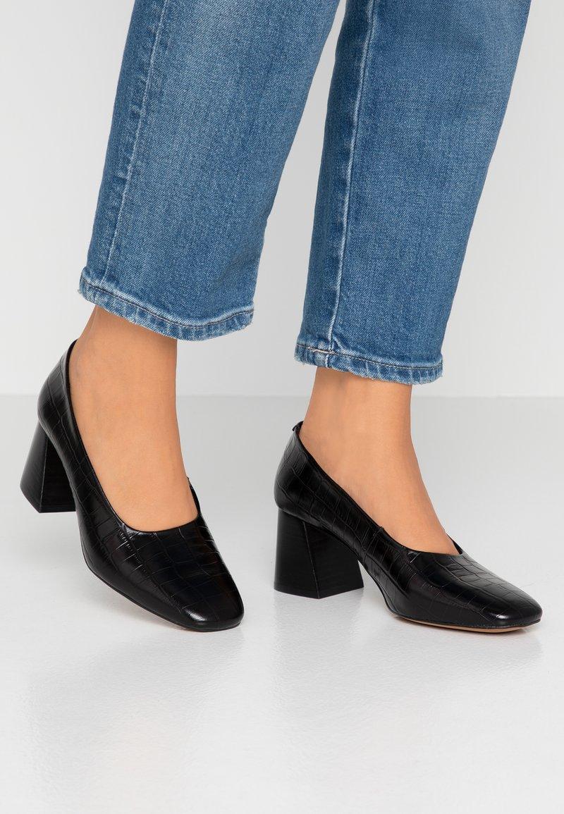 Depp - Classic heels - black