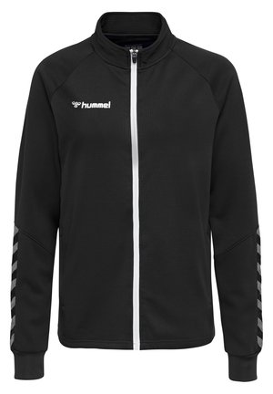 HMLAUTHENTIC  - Training jacket - black/white