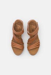 Blowfish Malibu - VEGAN HELM - Platform sandals - nude - 5