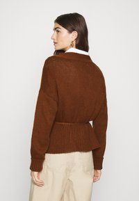 Abercrombie & Fitch - TALL CARDI - Cardigan - brown - 2