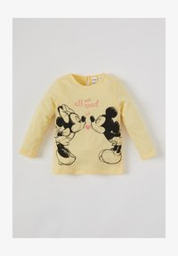 DeFacto - Long sleeved top - yellow - 0