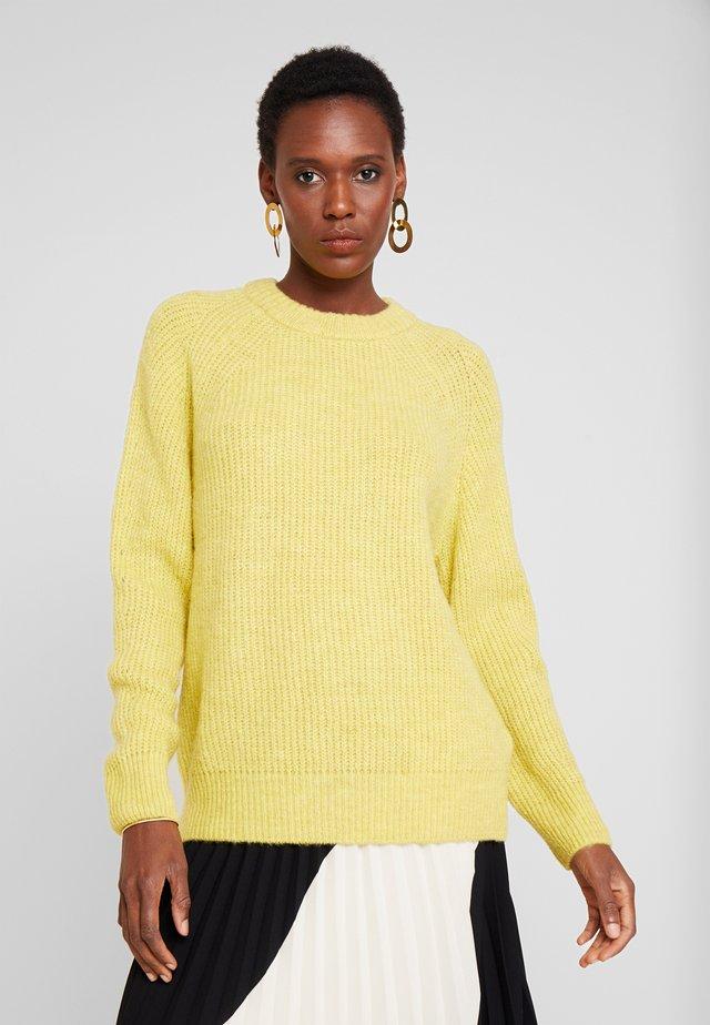 Pullover - vibrant yellow