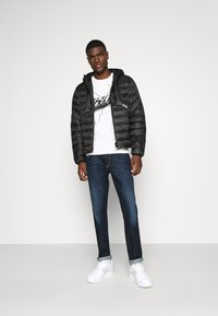 Diesel - W-DWAIN JACKET - Light jacket - black - 1