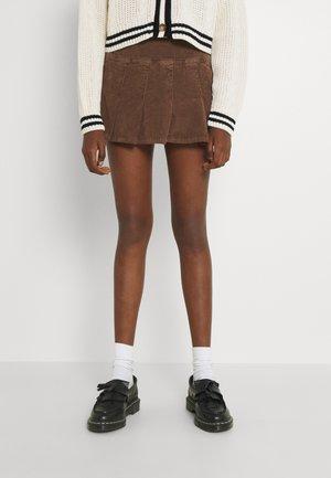 KILT - A-line skirt - brown