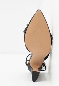 RAID - GLADDIN - Sandaler med høye hæler - black - 6
