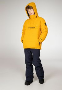Protest - DYLAN JR  - Snowboard jacket - dark yellow - 3