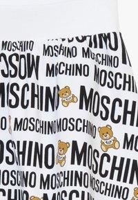 MOSCHINO - SKIRT ADDITION - Minisukně - optic white - 3
