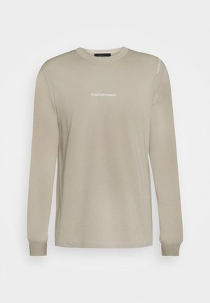 STOWAWAY TEE - Long sleeved top - celsian beige