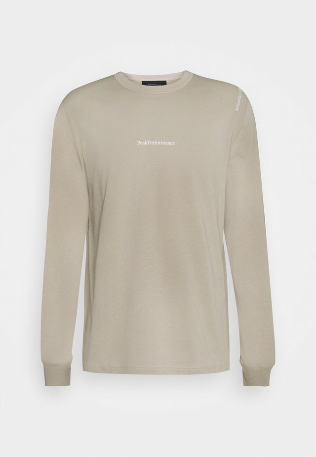 STOWAWAY TEE - T-shirt à manches longues - celsian beige