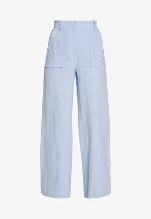 ANIKA PANT - Trousers - sky blue