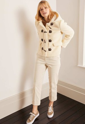 ELGIN BORG - Fleece jacket - ecru