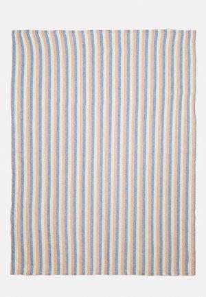 TOWEL STRIPE - Plážová osuška - navy/terracotta