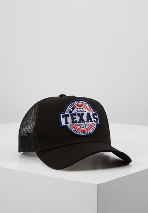 USA PATCH TRUCKER - Kšiltovka - black