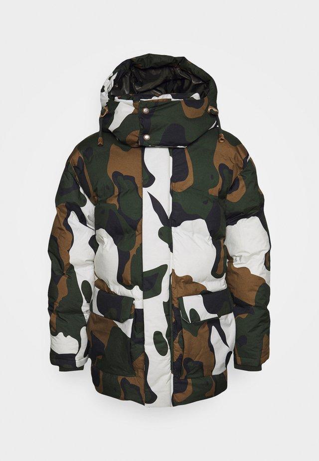 ANTIGO - Zimní bunda - dark green