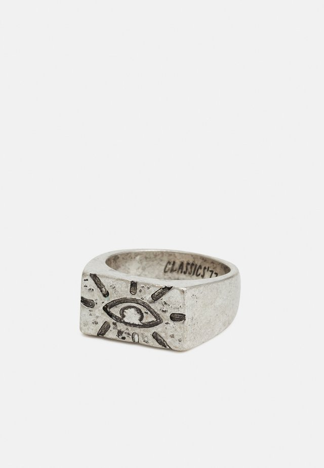 EXPRESSIVE EYE RECTANGLE - Ring - silver-coloured