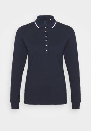 CLOUDSPUN LONGSLEEVE - Polo shirt - navy blazer