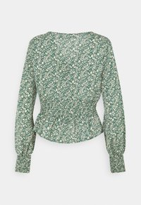 Missguided Tall - TIE FRONT BLOUSE - Topper langermet - green - 1