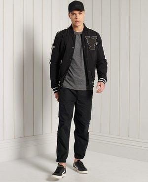 Long sleeved top - black grit