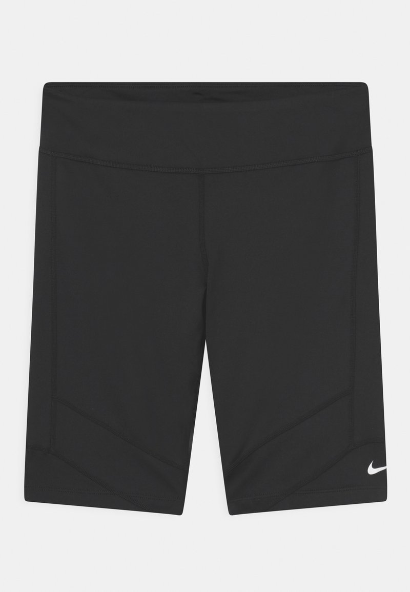 Nike Performance - PLUS ONE BIKE - Tights - black/white