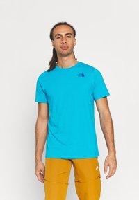 The North Face - FOUNDATION GRAPHIC TEE - Camiseta estampada - meridian blue - 2